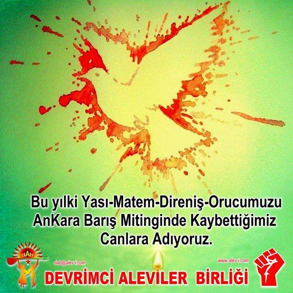Devrimci Aleviler Birliği DAB Alevi Kızılbaş Bektaşi pir sultan cem hz Ali 12 imam semah Feramuz Şah Acar photo_585165591631834