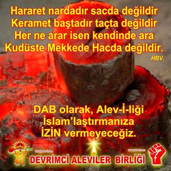 Devrimci Aleviler Birliği DAB Alevi Kızılbaş Bektaşi pir sultan cem hz Ali 12 imam semah Feramuz Şah Acar photo_589332007881859