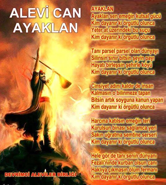 Devrimci Aleviler Birliği DAB Alevi Kızılbaş Bektaşi pir sultan cem hz Ali 12 imam semah Feramuz Şah Acar photo_607056452776081