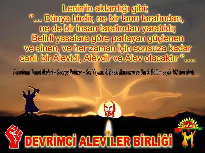 Devrimci Aleviler Birliği DAB Alevi Kızılbaş Bektaşi pir sultan cem hz Ali 12 imam semah Feramuz Şah Acar photo_631547320326994