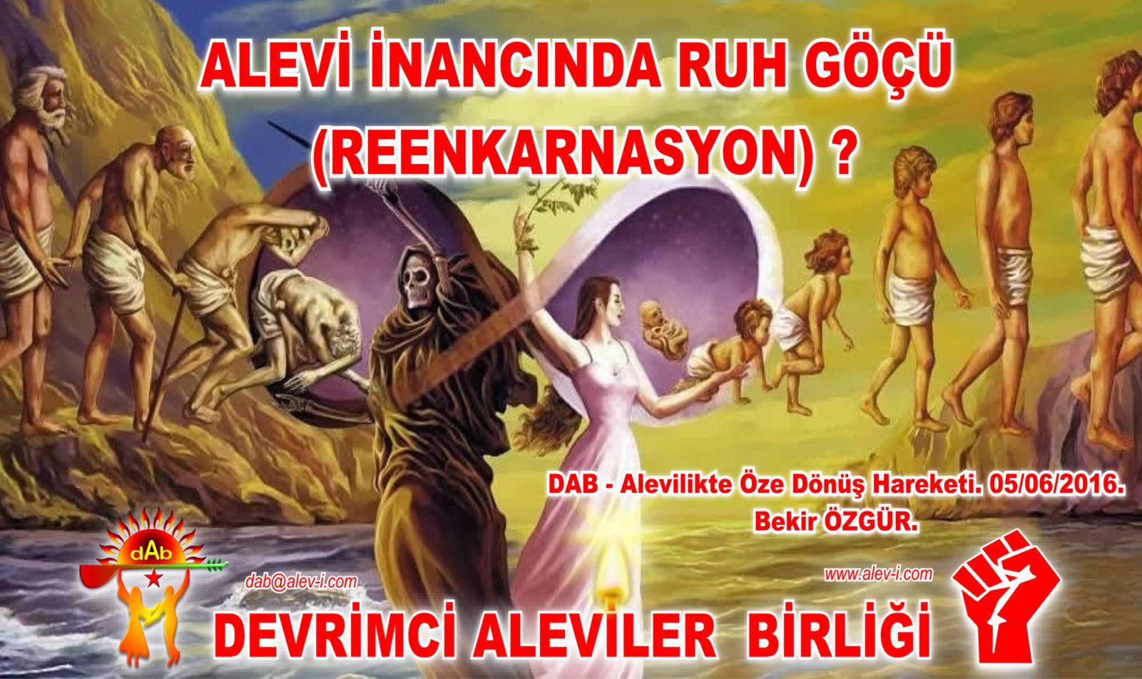 Devrimci Aleviler Birliği DAB Alevi Kızılbaş Bektaşi pir sultan cem hz Ali 12 imam semah Feramuz Şah Acar reenkarnasyon dab devriye