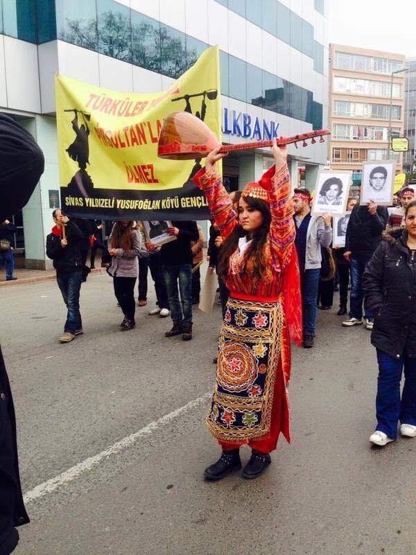 Devrimci Aleviler Birliği DAB Alevi Kızılbaş Bektaşi pir sultan cem hz Ali 12 imam semah Feramuz Şah Acar sas kiz kadin
